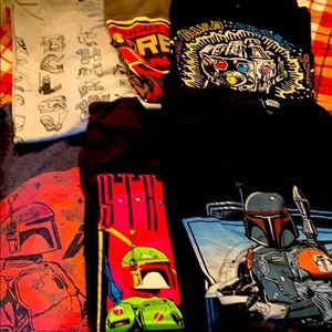 Men's Bundle Star wars Shirts